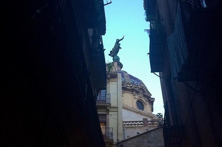 la Iglesia de la Mercé, Barcelona.
