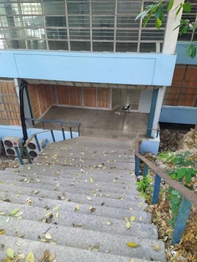 Centro de aislamiento / Foto: Cortesía del entrevistado