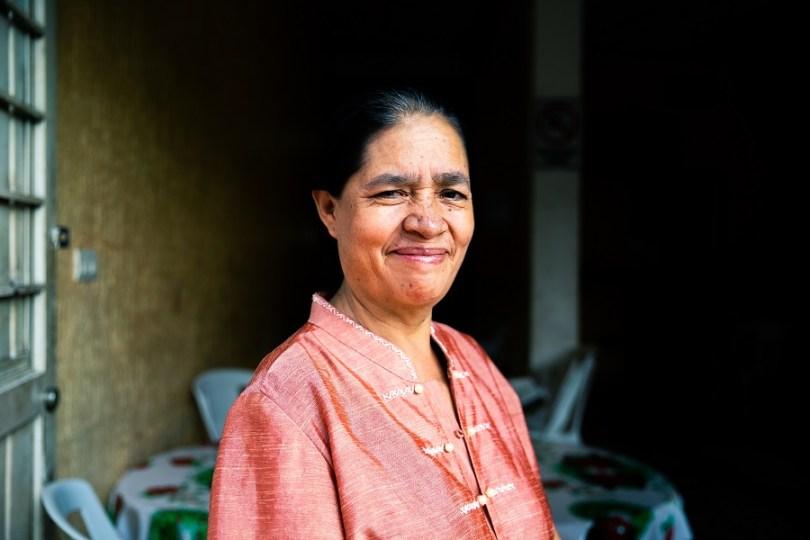 """""""Mama África"""", dueña de un restaurante de cocina africana en el Centro de Tapachula, Oaxaca, sur de México / Foto: Stefano Morrone"""