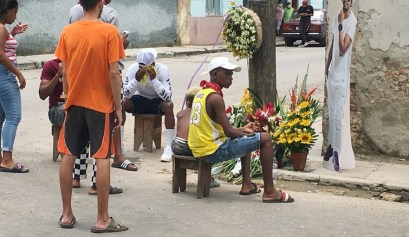 Altar a El Dany en Cayo Hueso / Foto: El Estornudo