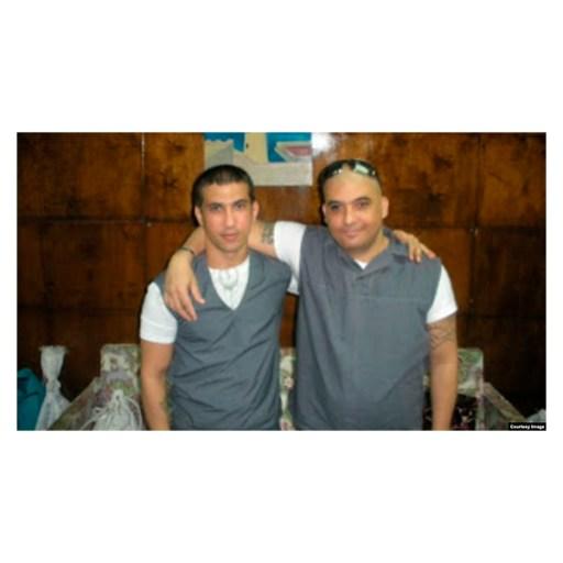 Maikel Delgado Aramburo y Harold Alcalá Aramburo