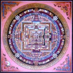 Kalachakra, mandala que figura a forma mental do universo humano / wikipedia