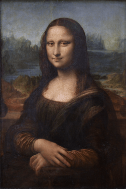 Gioconda, Museu do Louvre