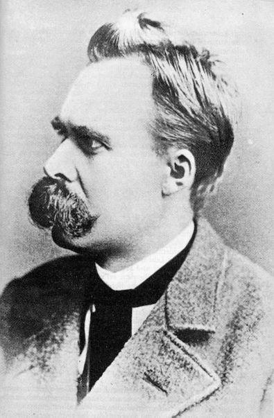 O Filósofo Frederich Nietzsche em 1887.