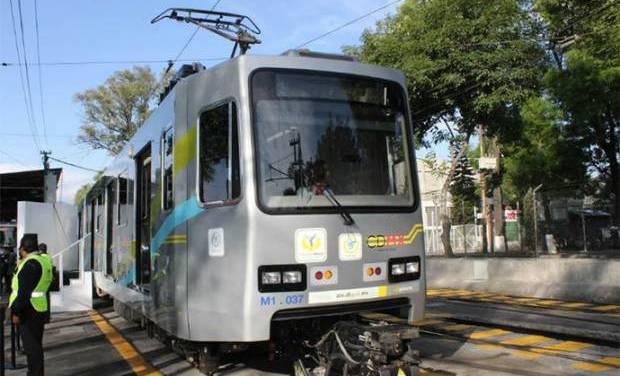 Iniciarán obras de rehabilitación del Tren Ligero en la Ciudad de México