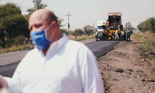 Gobernador de Jalisco supervisa obras de infraestructura