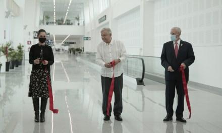 """Entra en operaciones el Dedo """"L"""" de la T2 del Aeropuerto Internacional de la Ciudad de México"""