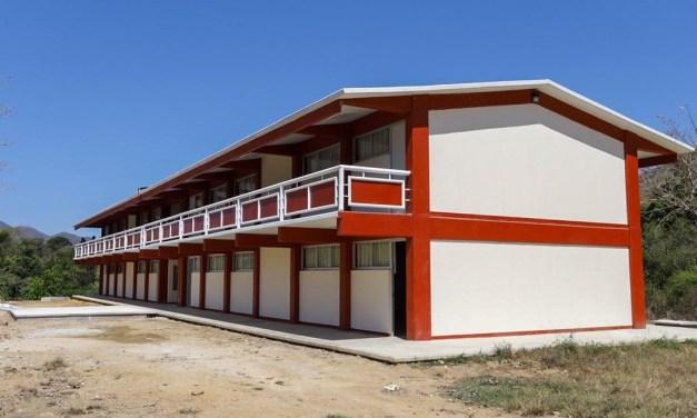 Edifican Infraestructura Educativa en Santos Reyes Nopala, Oaxaca