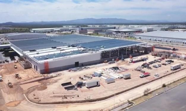GP CONSTRUCCIÓN amplía 11,000 m2 de la planta industrial de Faurecia en San Luis Potosí