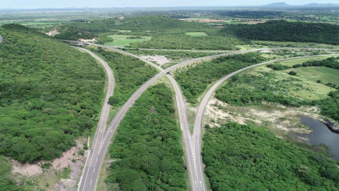 Avances de la carretera Mitla-Tehuantepec II