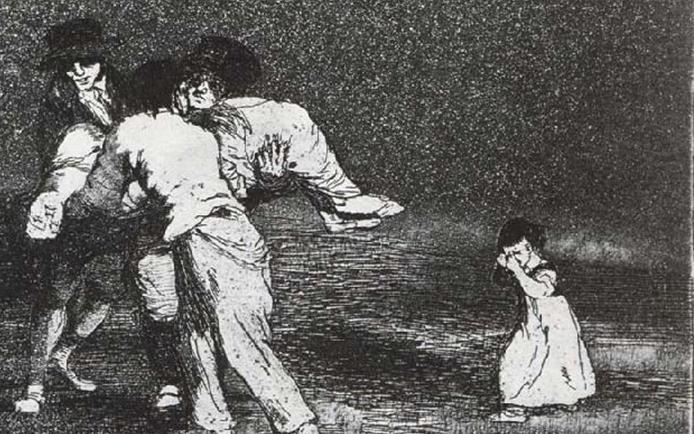 American Horror Story Goya : Madre infeliz, Los desastres de la Guerra