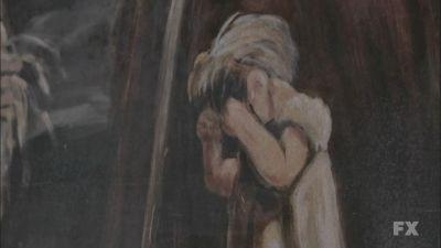 Pinturas murales de Murder House American Horror Story