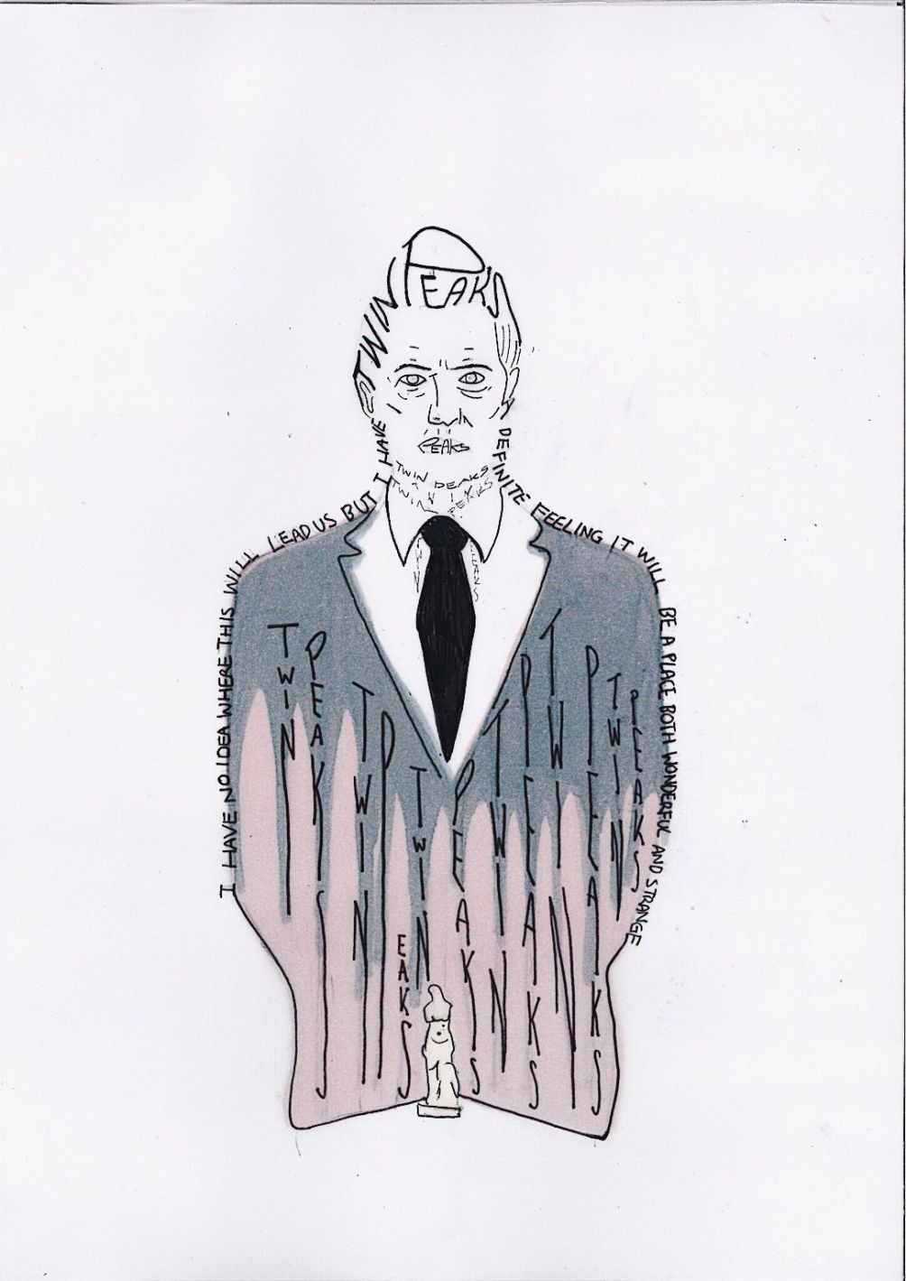 Twin Peaks, David Lynch por Sara Barquinero