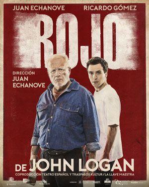 Ricardo Gómez y Juan Echanove: dos colosos en Rojo
