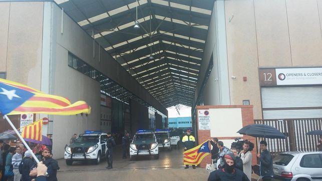 Represión como respuesta del régimen ante el proceso catalán.
