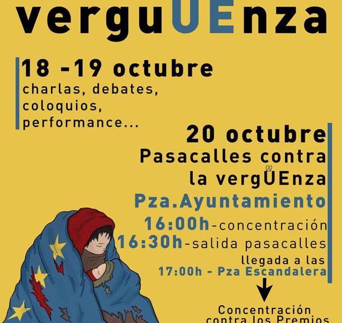 Premios Princesa de Asturias 2017: convocatoria actos de repulsa y manifiesto.