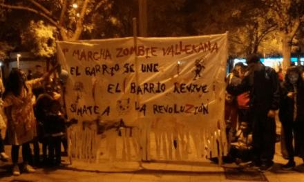 De Marcha Zombie a reivindicación: lucha de clases y antidisturbios zombies por las calles de Vallecas.