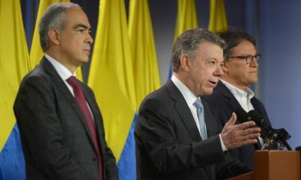 Santos reinicia los diálogo con el ELN.