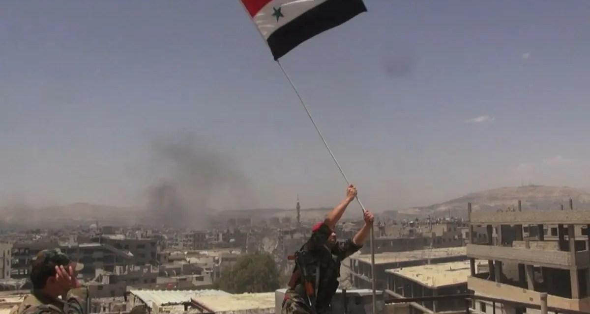 Felicidades Yarmouk, felicidades Siria.