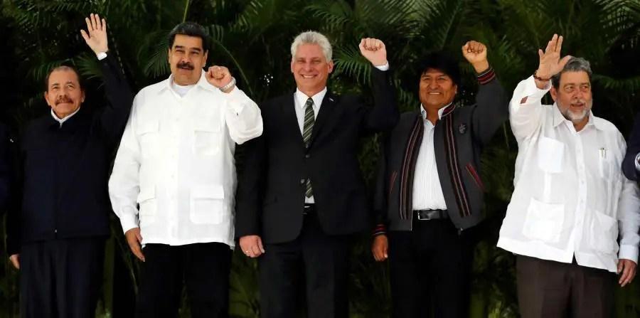 Cumbre XIV del ALBA-TCP en La Habana, Cuba.