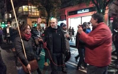 [Reportaje] Solidaridad internacionalista: manifestación por los presos y presas vascas