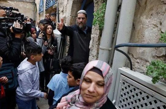 Soldados de la ocupación sionista desalojaron,