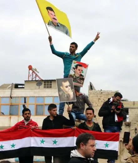 Comunicado de Siriaren Alde ante el anuncio del cese de la ocupación de varias localidades del norte de Siria por parte de EEUU y otros países de la OTAN