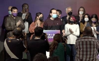 El adiós de Pablo Iglesias
