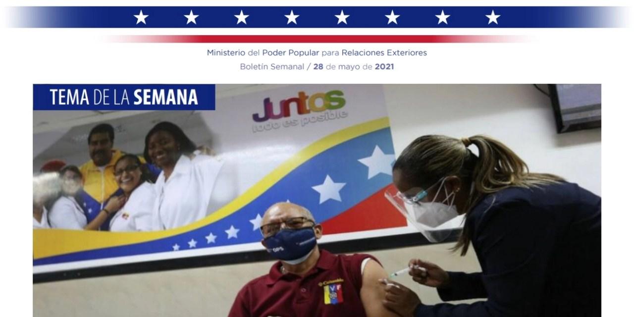 Venezuela Informa 10 – 28 de mayo de 2021
