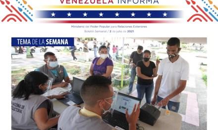 Venezuela Informa 15 – 2 de julio de 2021
