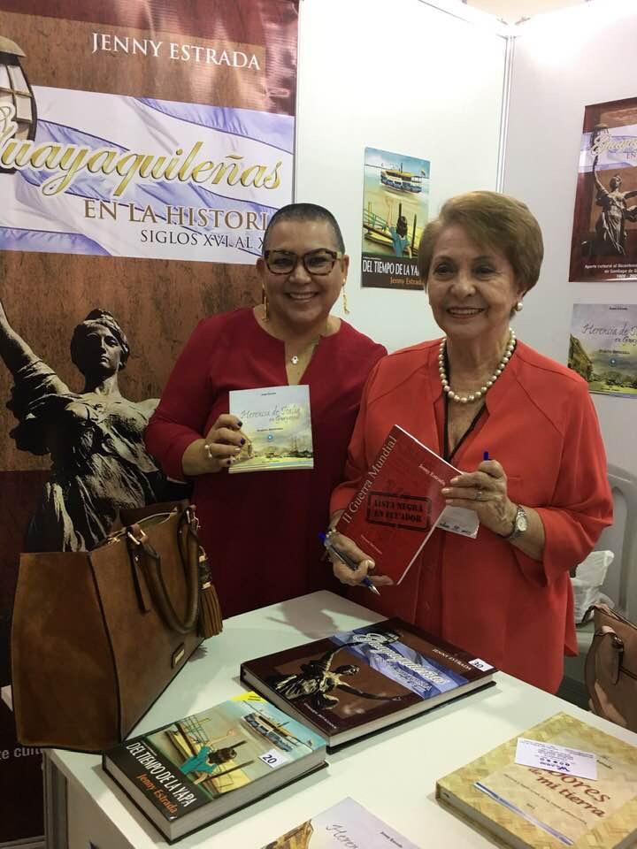 Jenny Estrada historiadora y escritora Guayaquileña