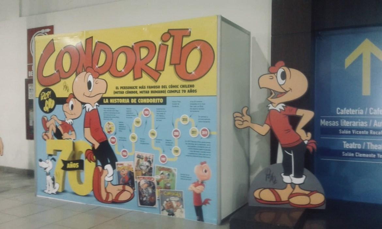 La celebración de los 100 años de Condorito