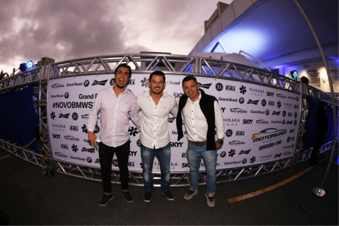 Alessandro Mesquista, Damlininho Corsini, Hamilton Chargas
