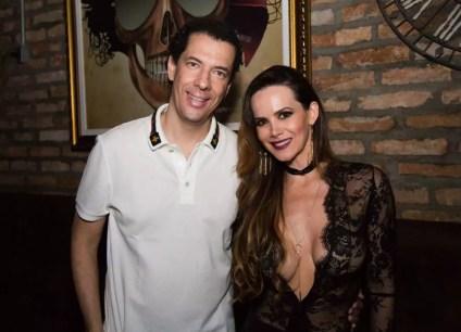 Alexandre Dias e Marcia Spezia