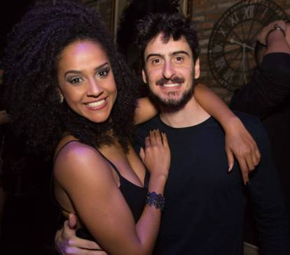 Flavia Mattos e Marcelo Machado