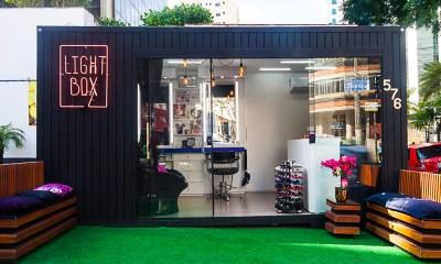 Studio Light Box - O primeiro Container que oferece serviços de beleza em SP