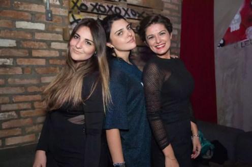 Melissa Gamoeda, Larissa Gamoeda e Natasha Namakura