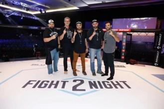 Rodrigo Huerta, Roberto Baldacconi, Bruno Gagliasso, Igor Morgado e Chico Salgado
