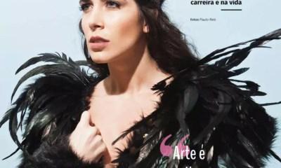 Anna Laura Bertozzi Laude, da moda à arte - A capa da edição 71 da lounge* fala da sua vida e carreira!