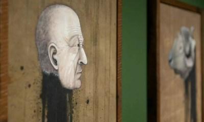 Giovani Caramello e Andrey Rossi embarcaram para participar de residência artística na Alemanha