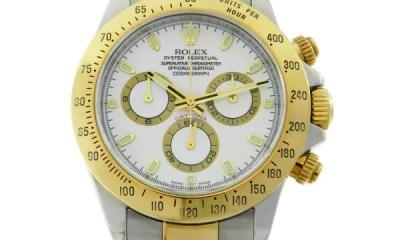 Gondolo Leilões disponibiliza lance livre para modelos de Rolex, Girard Perregaux entre outros