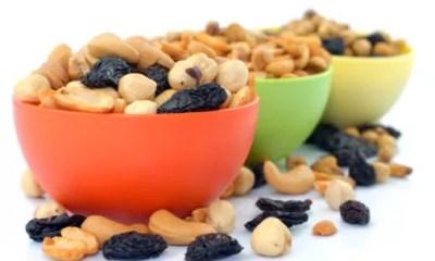 Combinação poderosa: frutas secas e castanhas