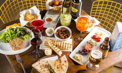 Restaurante italiano aposta em menu especial para happy hour