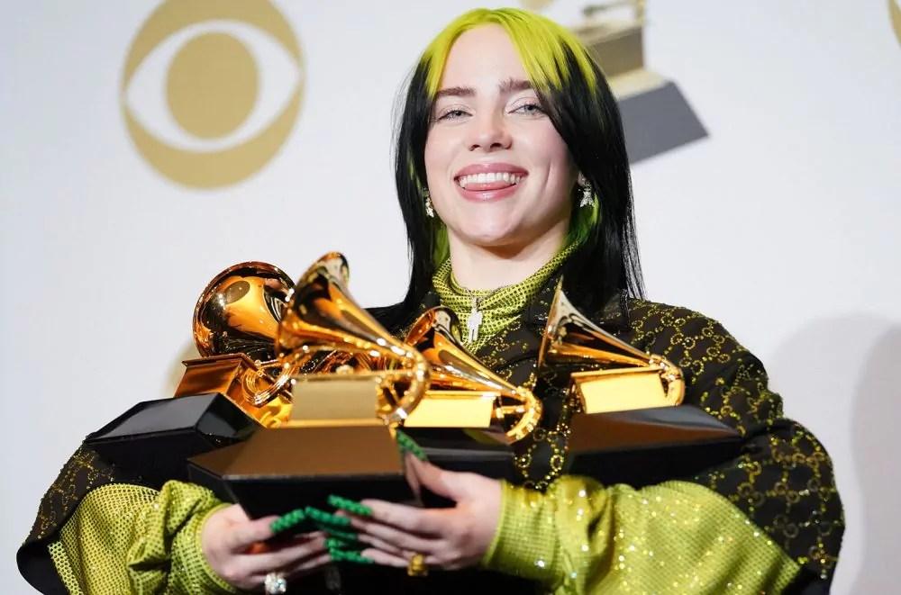 Billie Eilish é a maior vencedora do Grammy 2020 - Revista lounge*