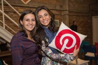 Mariana Queiroz e Ariele Ribeiro