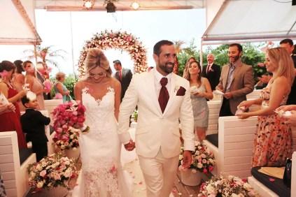 Monique Sainz e Filipe Dias