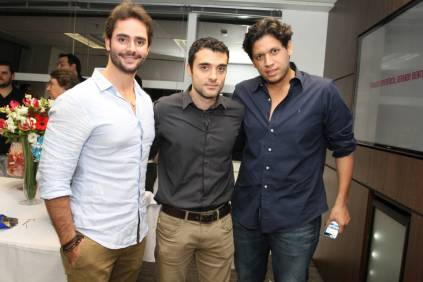 Rafa Luciano, Leandro Barone e Pedro Caldas