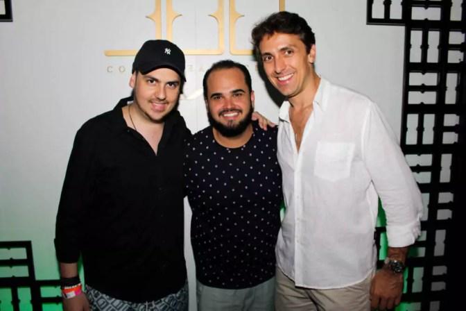 Ricardo, Fernandinho e Leo Ventura