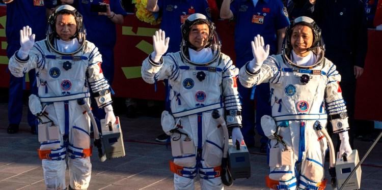 Misión espacial China