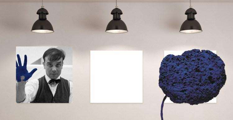 La belleza de lo simple Subasta de una esponja azul de Yves Klein
